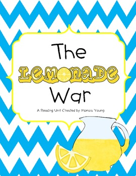 The Lemonade War {A Reading Unit}