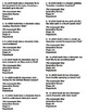 The Lemonade War Battle of the Books Trivia Questions