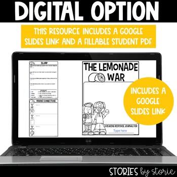 The Lemonade War Book Questions & Vocabulary
