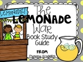 The Lemonade War Book Study, Writing Prompts, Craftivity, and Word Work