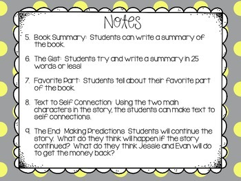 The Lemonade War Book Study, Writing Prompts, Craftivity