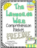 The Lemonade War Chapters 7 & 8 FREEBIE