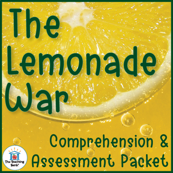 The Lemonade War Comprehension and Assessment Bundle