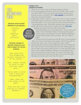 The Lemonade War Hyperdoc Project