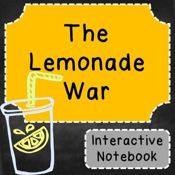 The Lemonade War Interactive Notebook