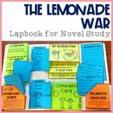 The Lemonade War Lapbook for Novel Study