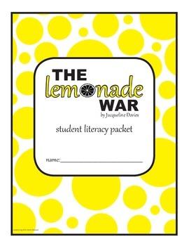 The Lemonade War Literacy Packet
