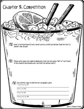 A Distance Learning Novel Study: The Lemonade War Questions & Answers