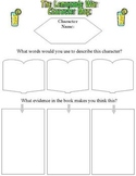 The Lemonade War -Literature Circle Reading Response Packet