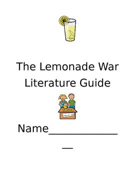 The Lemonade War Literature Guide