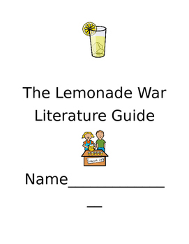 The Lemonade War Literature Guide