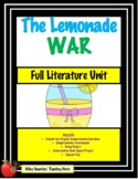 The Lemonade War Unit (Common Core Aligned!!)