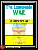 The Lemonade War Unit (Common Core Aligned!!)