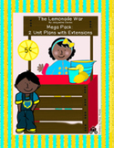 The Lemonade War Mega Book Study Bundle: 2 Unit Plans ELA & MATH