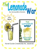 The Lemonade War Novel Guide & Math Activities
