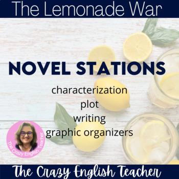 The Lemonade War Literacy Stations