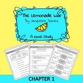 The Lemonade War Adapted Novel Study: Chapter 1