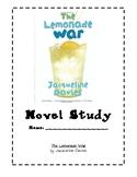 The Lemonade War Novel Study & Vocabulary Guide