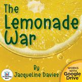 The Lemonade War Unit Novel Study