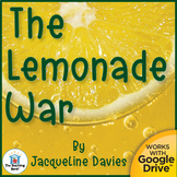 The Lemonade War Unit Novel Study