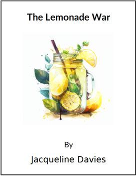 The Lemonade War - (Reed Novel Studies)