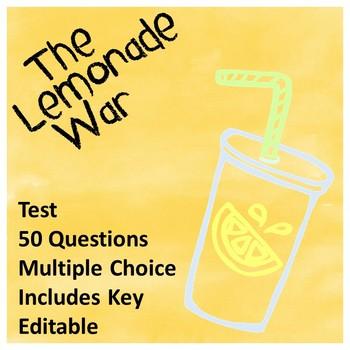 The Lemonade War Test