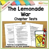 The Lemonade War Tests