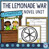 The Lemonade War Novel Study Unit for Grades 3, 4, and 5