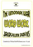 The Lemonade War Vocabulary Workbook