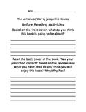 The Lemonade War Workbook