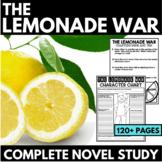 The Lemonade War Novel Study Unit | Chapter Questions | In