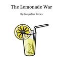 The Lemonade War chapter questions