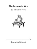 The Lemonade War notebook