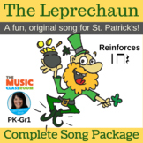 "St. Patrick's Day | ""The Leprechaun"" Action Song 