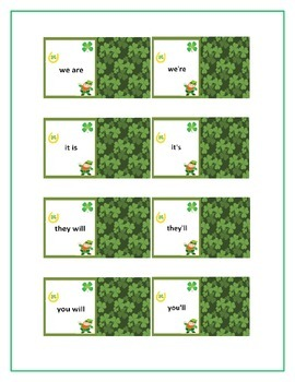 The Leprechaun Memory Card Game