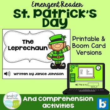 The Leprechaun ~ St. Patrick's Day reader  {Young Readers, ESL, EFL}