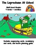 The Leprechaun at School Multilevel Reader ~ KinderReaders