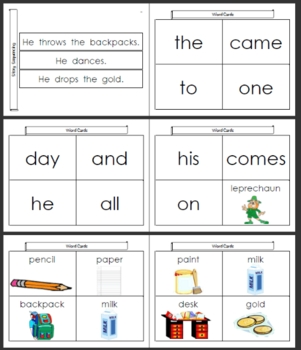 The Leprechaun at School Multilevel Reader ~ KinderReaders