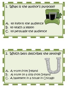 The Leprechaun in the Basement Comprehension Activities