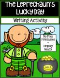 The Leprechaun's Lucky Day ~ Writing Activity