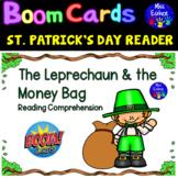 The Leprechaun & the Money Bag - St Patrick's Day Reader BOOM CARDS