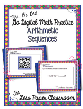 The Less Paper Classroom:  Arithmetic Sequences