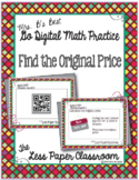 The Less Paper Classroom:  Find the Original Price