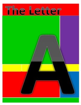 Letter A Coloring and Worksheets