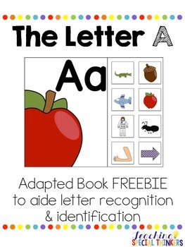 The Letter A Interactive Book FREEBIE