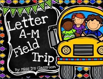 The Letter A - M Field Trip Bundle! (US & NON-US)