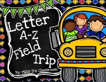 The Letter A - Z Field Trip MEGA BUNDLE! (US VERSION)