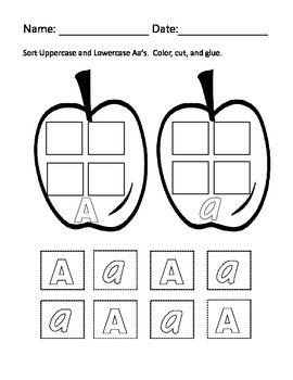 The Letter A with Alphabet Stu