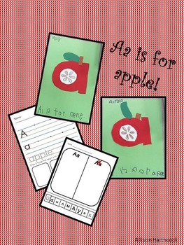The Letter Aa- craft and worksheets!