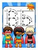 The Letter B Alphabet Superhero